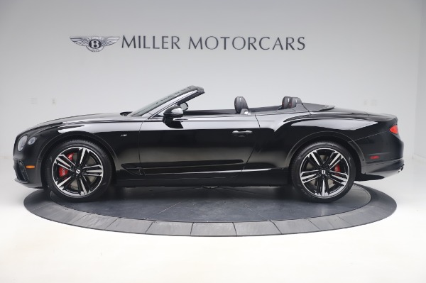 New 2020 Bentley Continental GTC V8 for sale $275,045 at McLaren Greenwich in Greenwich CT 06830 3