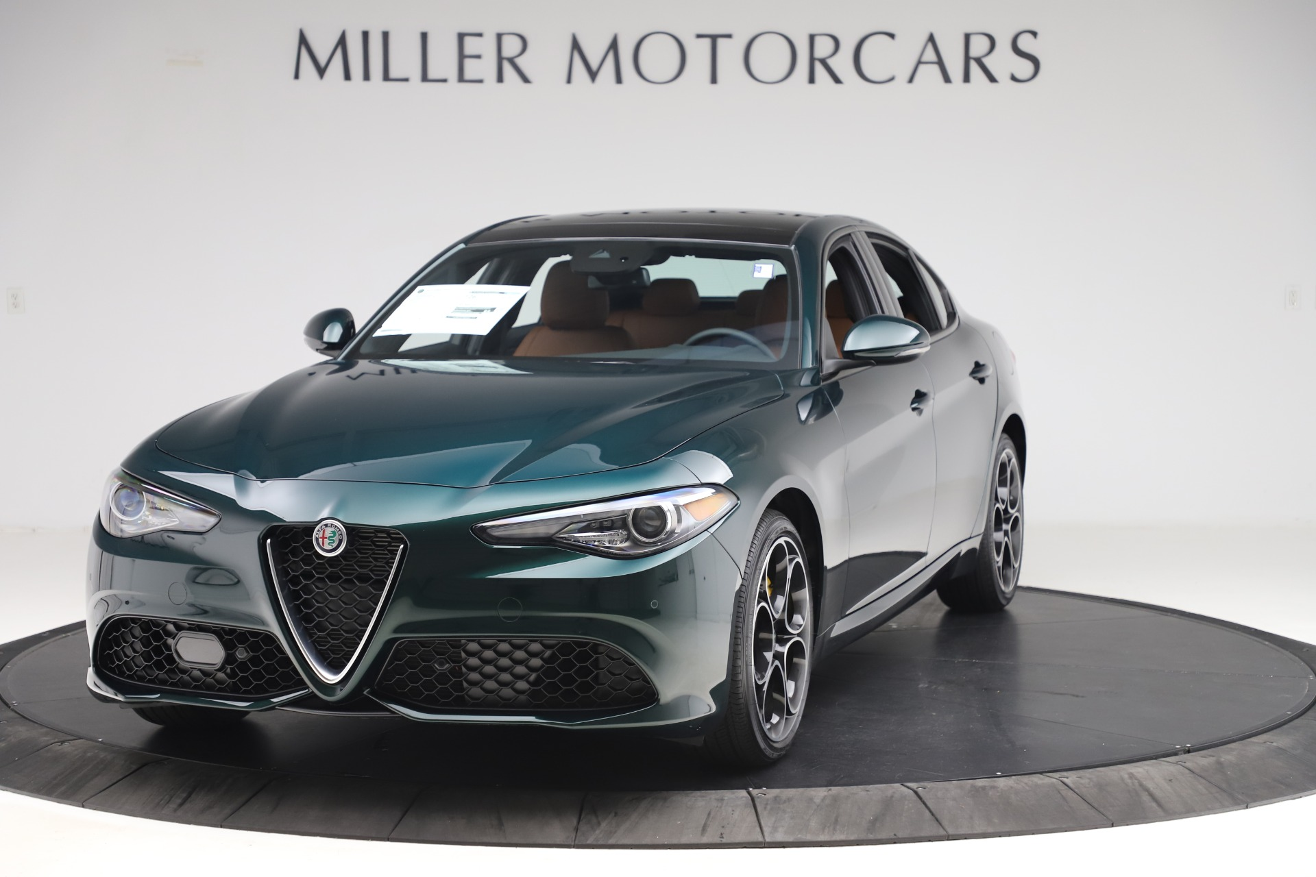 New 2020 Alfa Romeo Giulia Ti Sport Q4 for sale $54,995 at McLaren Greenwich in Greenwich CT 06830 1