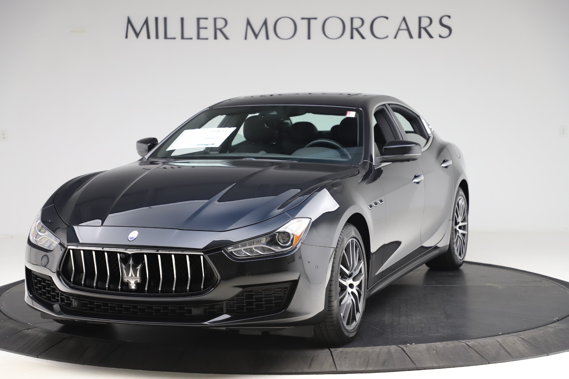 New 2019 Maserati Ghibli S Q4 for sale $91,165 at McLaren Greenwich in Greenwich CT 06830 1