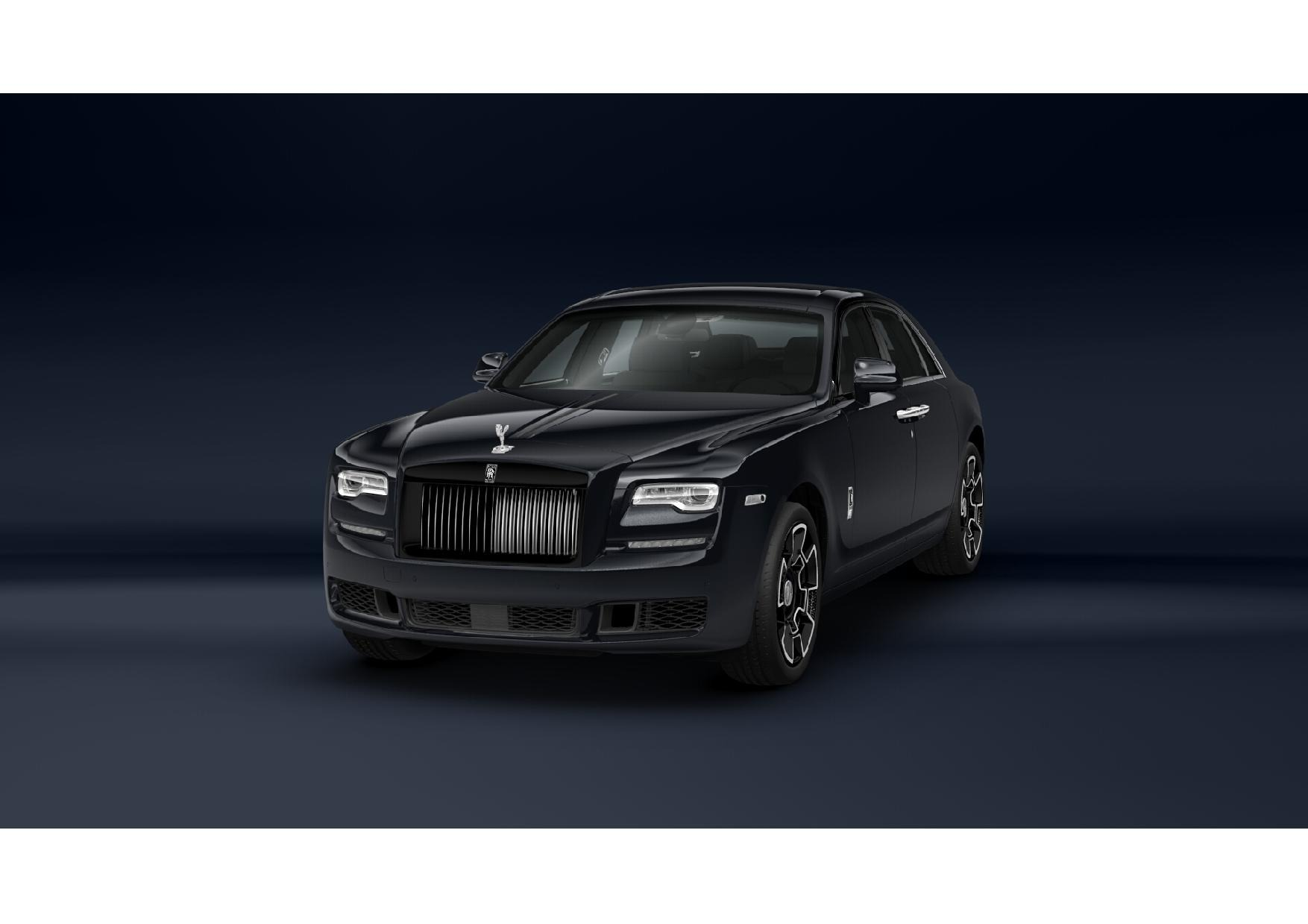 New 2019 Rolls-Royce Ghost Black Badge for sale Sold at McLaren Greenwich in Greenwich CT 06830 1