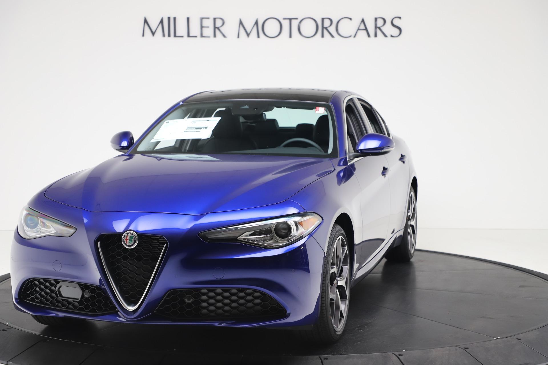 New 2020 Alfa Romeo Giulia Ti Q4 for sale $49,245 at McLaren Greenwich in Greenwich CT 06830 1