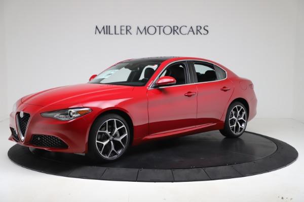 New 2020 Alfa Romeo Giulia Ti Q4 for sale $47,745 at McLaren Greenwich in Greenwich CT 06830 2