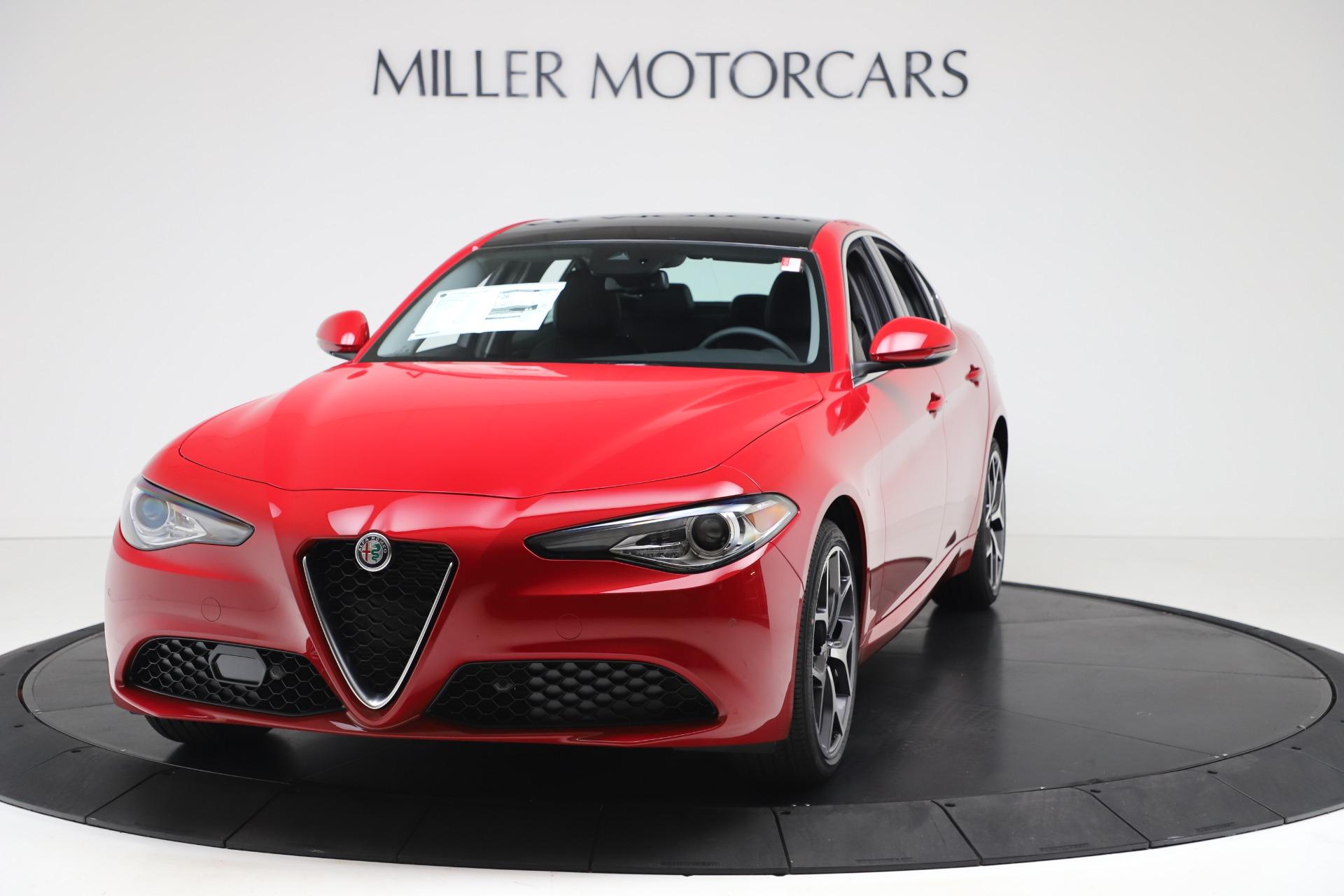 New 2020 Alfa Romeo Giulia Ti Q4 for sale $47,745 at McLaren Greenwich in Greenwich CT 06830 1