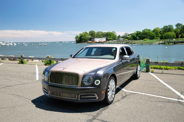 Used 2017 Bentley Mulsanne EWB for sale Sold at McLaren Greenwich in Greenwich CT 06830 2