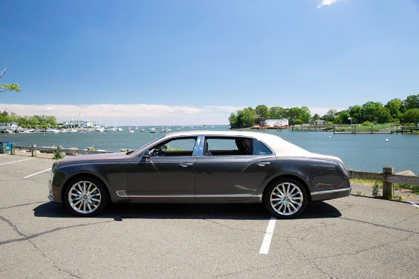 Used 2017 Bentley Mulsanne EWB for sale Sold at McLaren Greenwich in Greenwich CT 06830 4