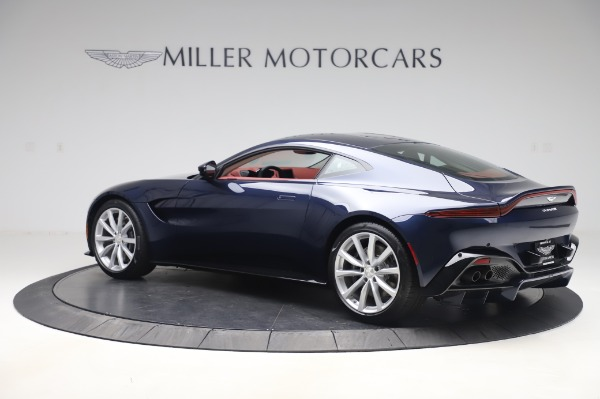 New 2020 Aston Martin Vantage Coupe for sale $177,481 at McLaren Greenwich in Greenwich CT 06830 3
