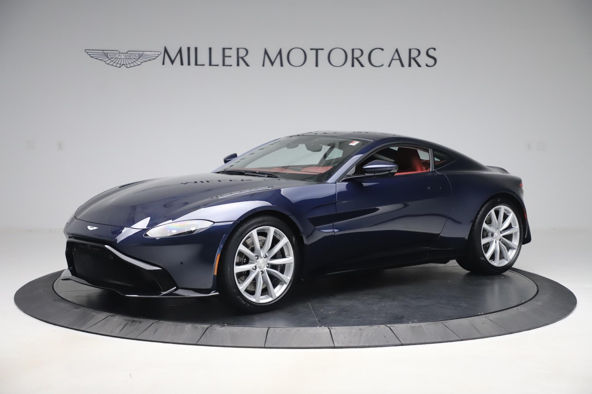 New 2020 Aston Martin Vantage for sale $177,481 at McLaren Greenwich in Greenwich CT 06830 1