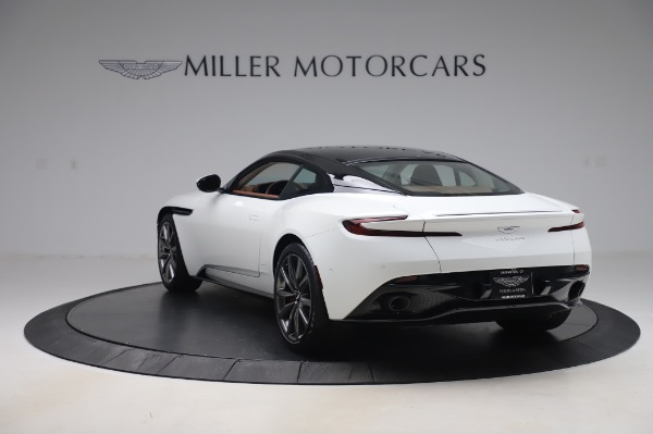 New 2020 Aston Martin DB11 V8 Coupe for sale $233,266 at McLaren Greenwich in Greenwich CT 06830 4