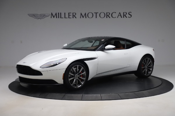 New 2020 Aston Martin DB11 V8 Coupe for sale $233,266 at McLaren Greenwich in Greenwich CT 06830 1