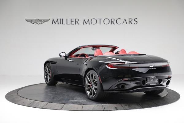 New 2020 Aston Martin DB11 Volante Convertible for sale $247,386 at McLaren Greenwich in Greenwich CT 06830 4