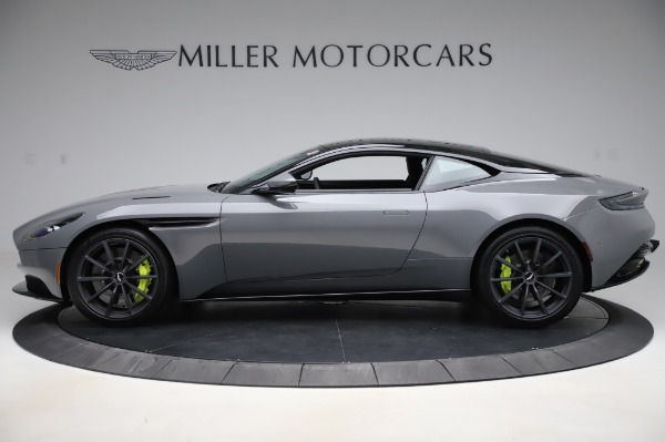 New 2020 Aston Martin DB11 V12 AMR Coupe for sale Sold at McLaren Greenwich in Greenwich CT 06830 3