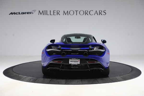 New 2020 McLaren 720S Coupe for sale $349,050 at McLaren Greenwich in Greenwich CT 06830 4