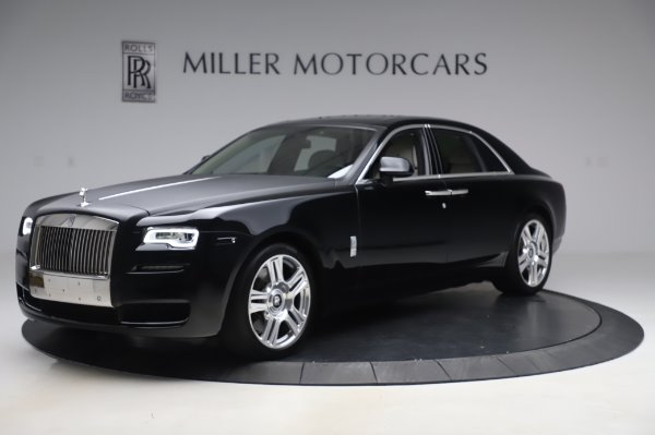 Used 2015 Rolls-Royce Ghost Base for sale Call for price at McLaren Greenwich in Greenwich CT 06830 3