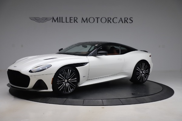 New 2020 Aston Martin DBS Superleggera for sale $337,686 at McLaren Greenwich in Greenwich CT 06830 1