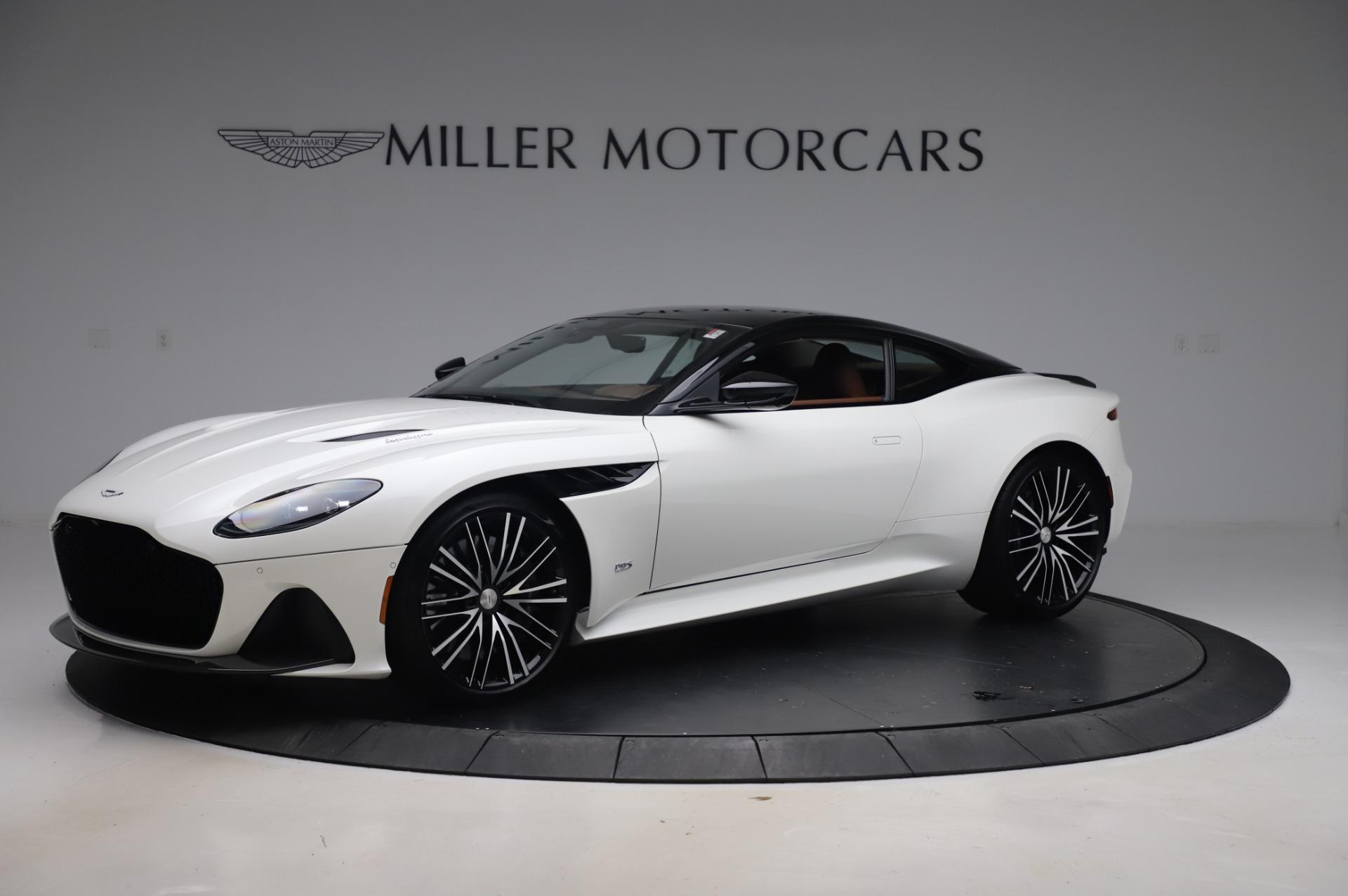 New 2020 Aston Martin DBS Superleggera Coupe for sale $337,686 at McLaren Greenwich in Greenwich CT 06830 1