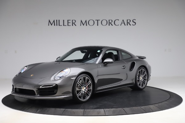 Used 2015 Porsche 911 Turbo for sale $123,900 at McLaren Greenwich in Greenwich CT 06830 2