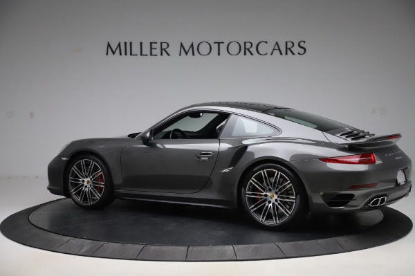 Used 2015 Porsche 911 Turbo for sale $123,900 at McLaren Greenwich in Greenwich CT 06830 4