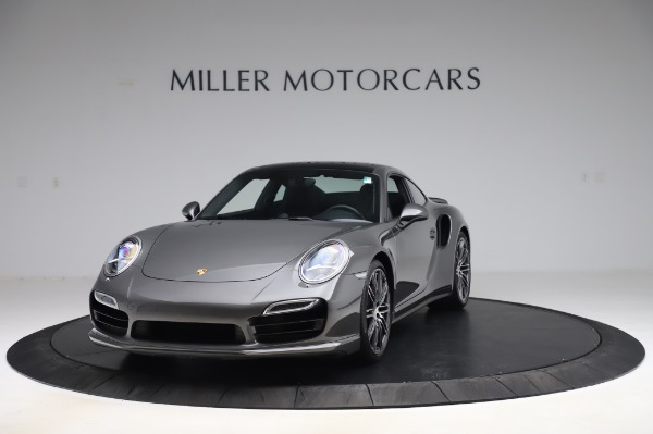 Used 2015 Porsche 911 Turbo for sale $123,900 at McLaren Greenwich in Greenwich CT 06830 1