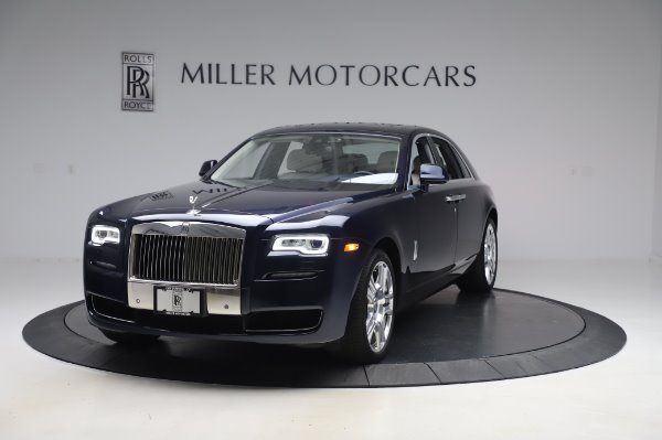 Used 2016 Rolls-Royce Ghost for sale Sold at McLaren Greenwich in Greenwich CT 06830 1