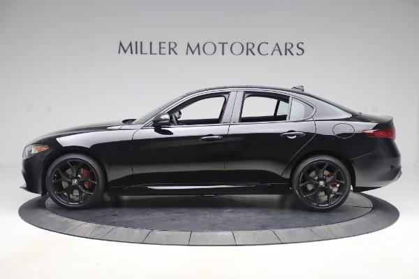 New 2020 Alfa Romeo Giulia Q4 for sale $48,445 at McLaren Greenwich in Greenwich CT 06830 3