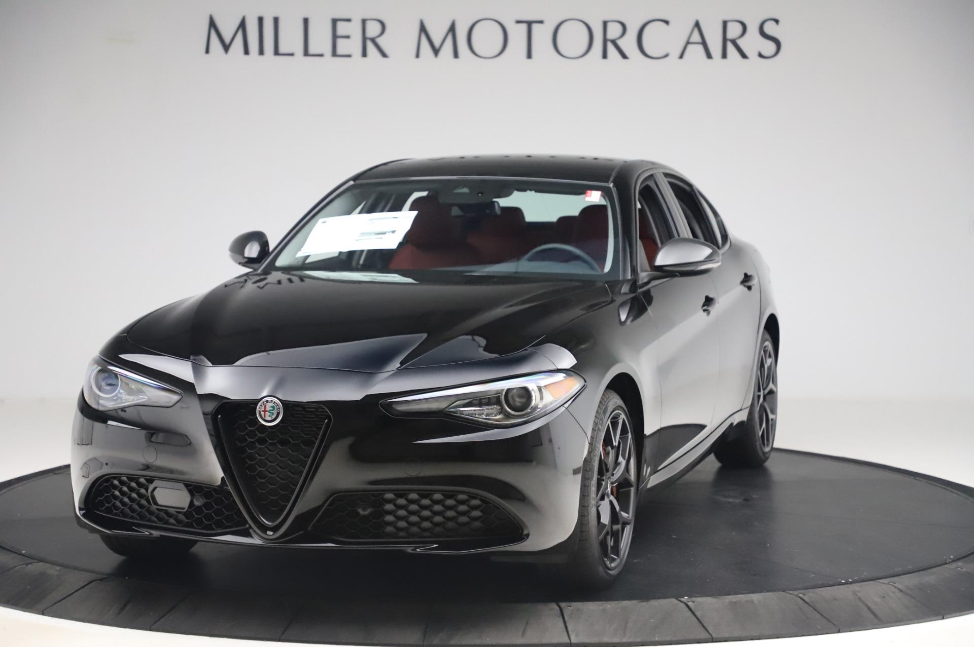 New 2020 Alfa Romeo Giulia Q4 for sale $48,445 at McLaren Greenwich in Greenwich CT 06830 1