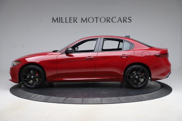 New 2020 Alfa Romeo Giulia Sport Q4 for sale $43,645 at McLaren Greenwich in Greenwich CT 06830 3