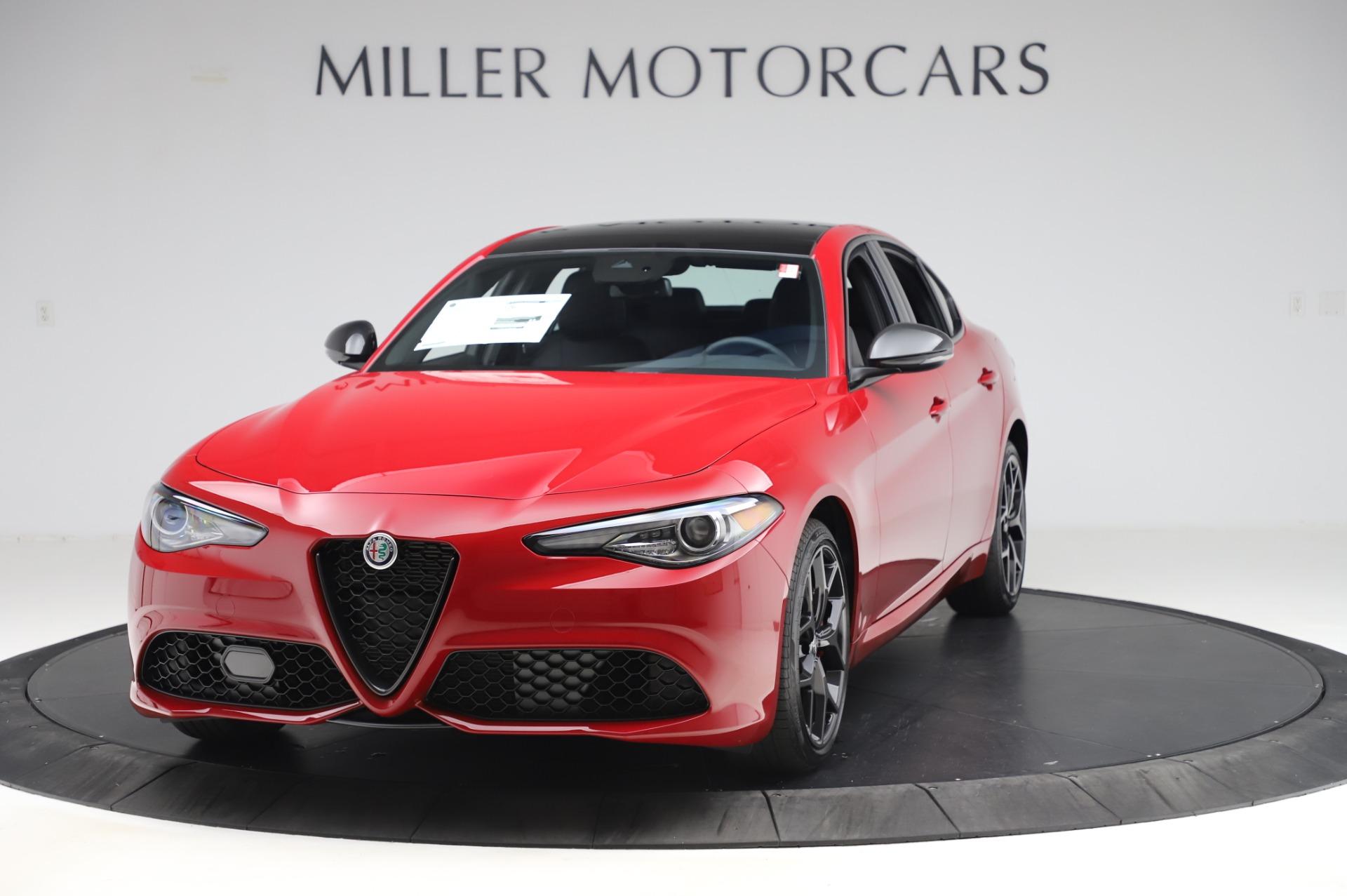 New 2020 Alfa Romeo Giulia Sport Q4 for sale $43,645 at McLaren Greenwich in Greenwich CT 06830 1