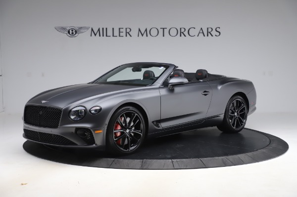 New 2020 Bentley Continental GTC W12 for sale $329,600 at McLaren Greenwich in Greenwich CT 06830 2