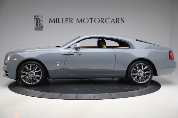 Used 2020 Rolls-Royce Wraith for sale $359,900 at McLaren Greenwich in Greenwich CT 06830 3