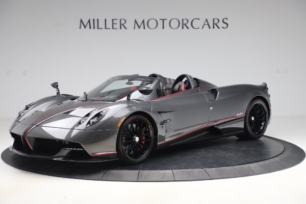 Used 2017 Pagani Huayra Roadster for sale Sold at McLaren Greenwich in Greenwich CT 06830 2