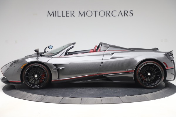 Used 2017 Pagani Huayra Roadster for sale Sold at McLaren Greenwich in Greenwich CT 06830 3