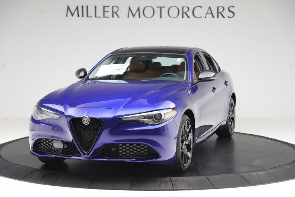 New 2020 Alfa Romeo Giulia Ti Q4 for sale $51,145 at McLaren Greenwich in Greenwich CT 06830 1