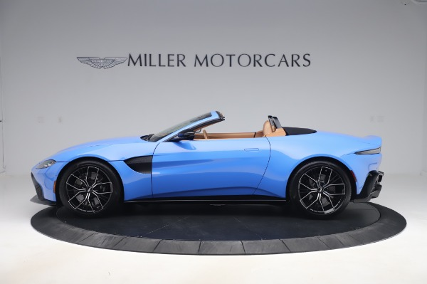 New 2021 Aston Martin Vantage Roadster for sale Call for price at McLaren Greenwich in Greenwich CT 06830 2