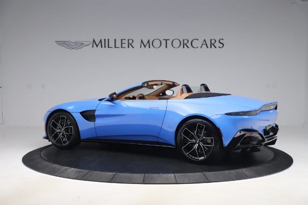 New 2021 Aston Martin Vantage Roadster for sale Call for price at McLaren Greenwich in Greenwich CT 06830 3