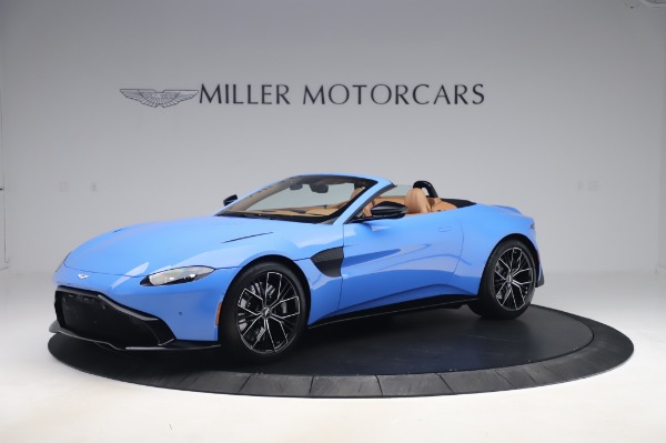 New 2021 Aston Martin Vantage Roadster for sale Call for price at McLaren Greenwich in Greenwich CT 06830 1