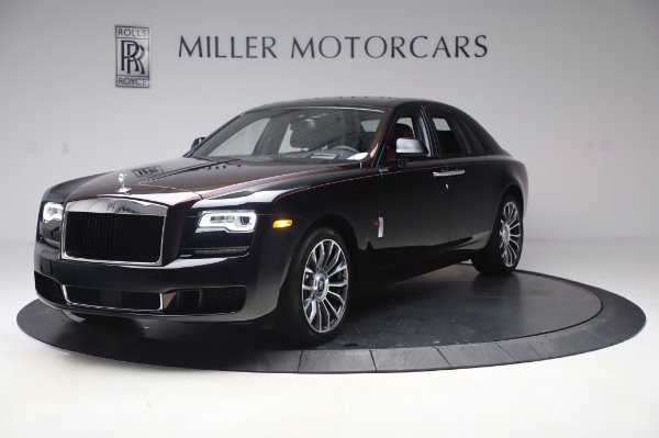 New 2020 Rolls-Royce Ghost for sale $450,450 at McLaren Greenwich in Greenwich CT 06830 3