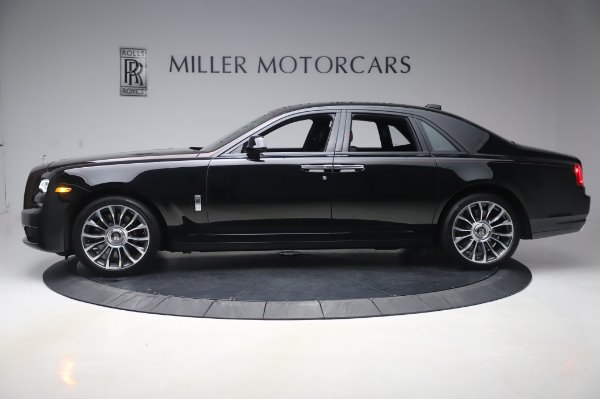 New 2020 Rolls-Royce Ghost for sale $450,450 at McLaren Greenwich in Greenwich CT 06830 4