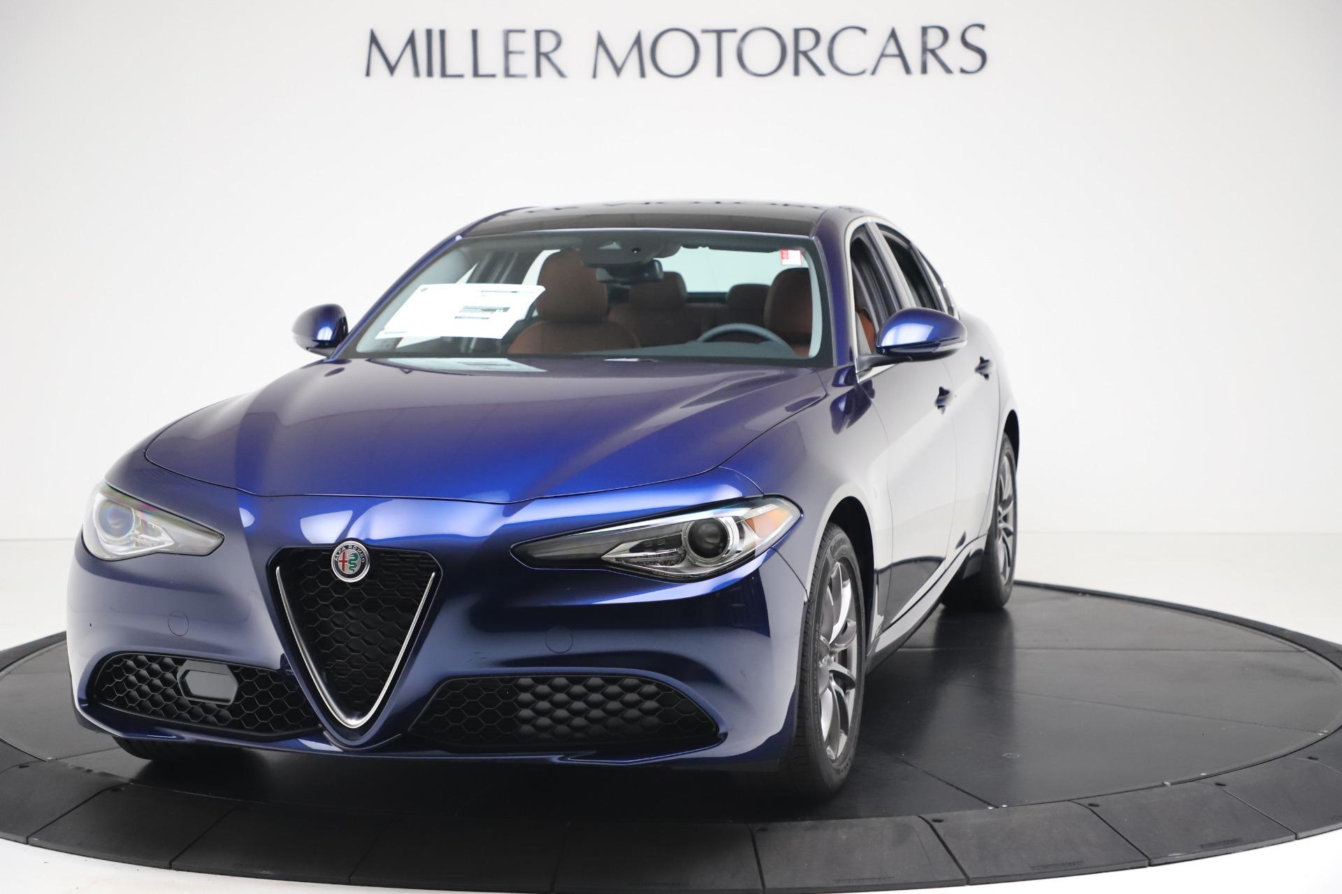 New 2020 Alfa Romeo Giulia Q4 for sale $45,445 at McLaren Greenwich in Greenwich CT 06830 1