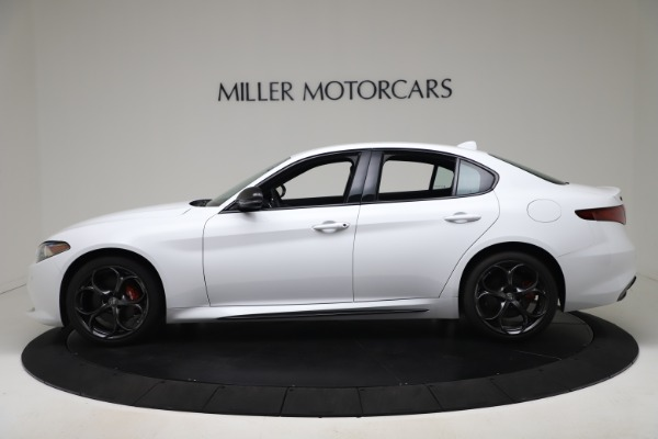 New 2020 Alfa Romeo Giulia Ti Sport Carbon Q4 for sale $51,640 at McLaren Greenwich in Greenwich CT 06830 3