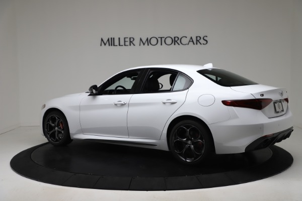 New 2020 Alfa Romeo Giulia Ti Sport Carbon Q4 for sale $51,640 at McLaren Greenwich in Greenwich CT 06830 4