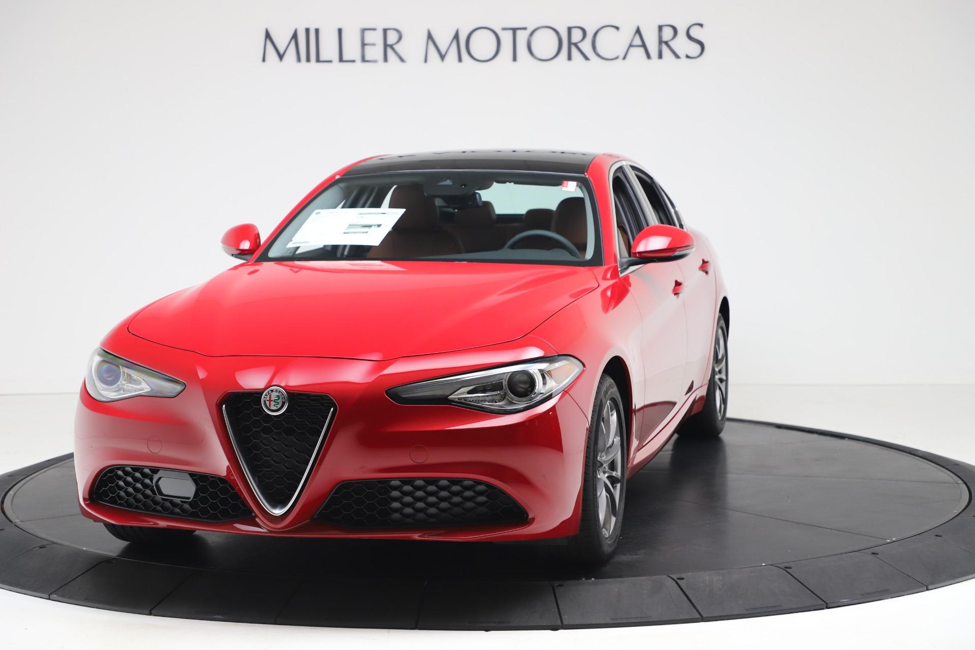 New 2020 Alfa Romeo Giulia Q4 for sale $44,845 at McLaren Greenwich in Greenwich CT 06830 1