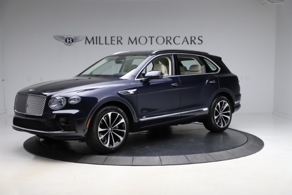 New 2021 Bentley Bentayga V8 for sale $204,100 at McLaren Greenwich in Greenwich CT 06830 2