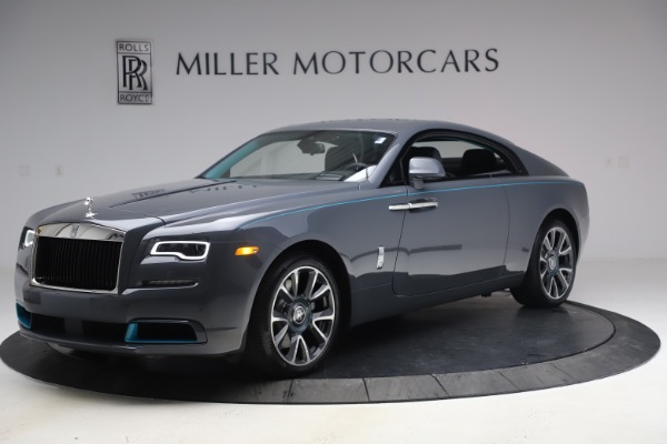 New 2021 Rolls-Royce Wraith KRYPTOS for sale $450,550 at McLaren Greenwich in Greenwich CT 06830 3