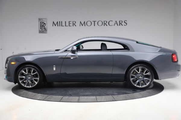 New 2021 Rolls-Royce Wraith KRYPTOS for sale $450,550 at McLaren Greenwich in Greenwich CT 06830 4