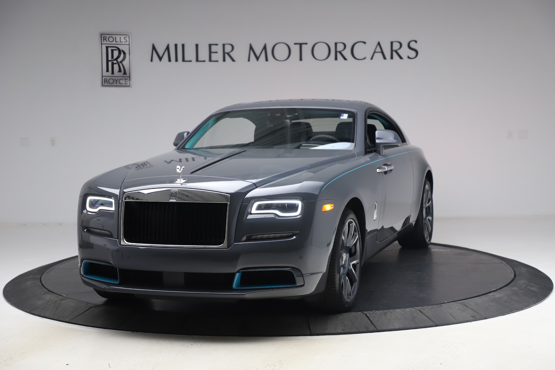 New 2021 Rolls-Royce Wraith KRYPTOS for sale $450,550 at McLaren Greenwich in Greenwich CT 06830 1