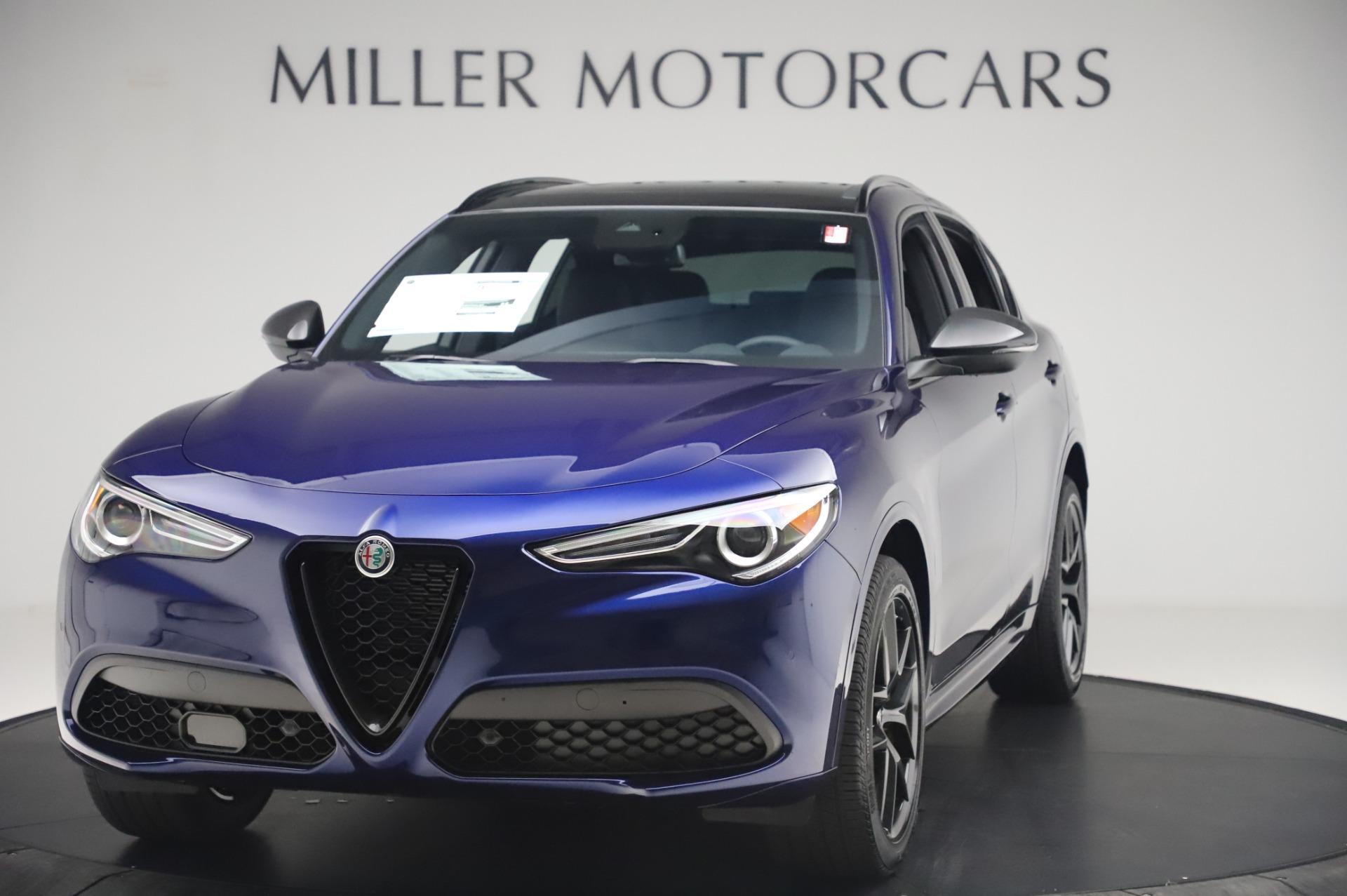 New 2020 Alfa Romeo Stelvio Ti Sport Q4 for sale $55,995 at McLaren Greenwich in Greenwich CT 06830 1