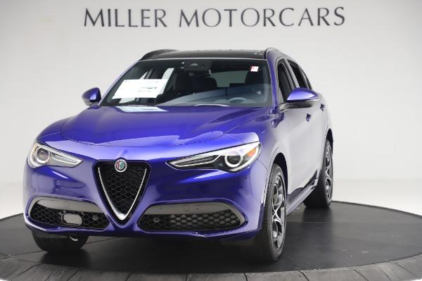 New 2020 Alfa Romeo Stelvio Ti Sport Q4 for sale $52,045 at McLaren Greenwich in Greenwich CT 06830 1