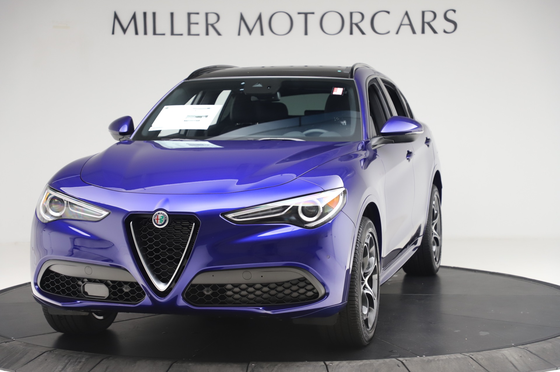 New 2020 Alfa Romeo Stelvio Ti Sport Q4 for sale $57,045 at McLaren Greenwich in Greenwich CT 06830 1