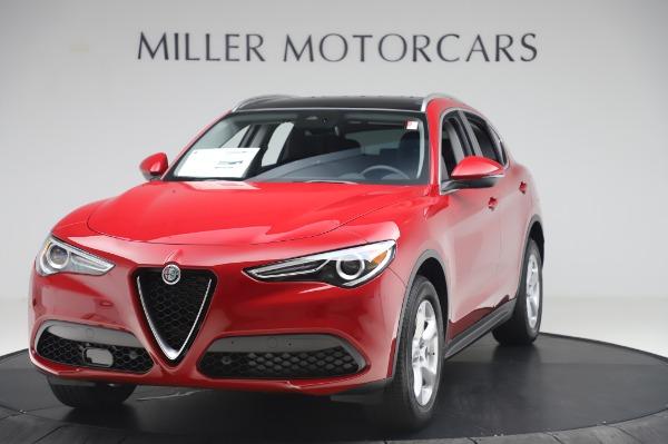 New 2020 Alfa Romeo Stelvio Q4 for sale $47,645 at McLaren Greenwich in Greenwich CT 06830 1
