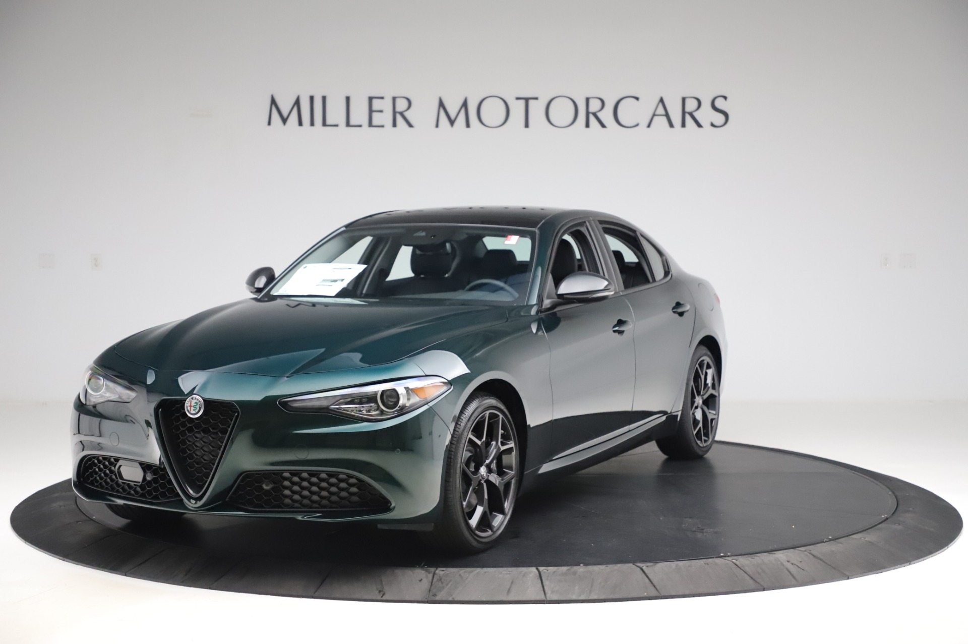 New 2020 Alfa Romeo Giulia Ti Q4 for sale $49,745 at McLaren Greenwich in Greenwich CT 06830 1